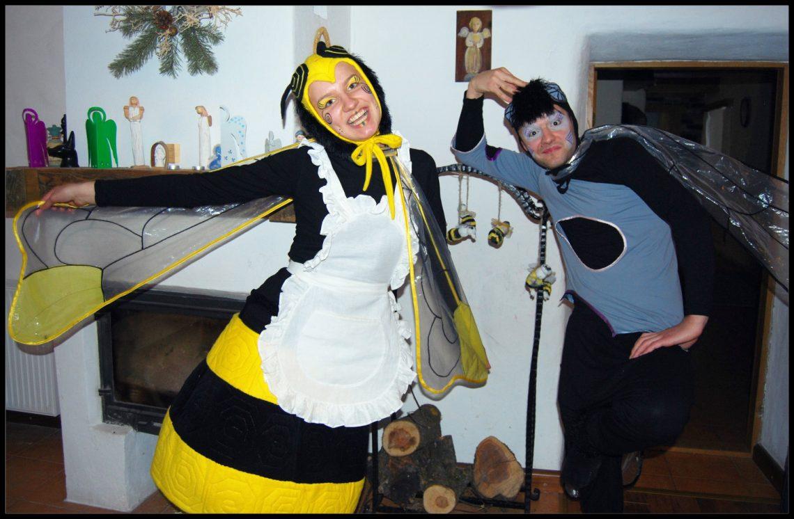Bitė ir Musė personazai